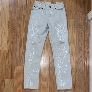 RL Distressed Christopher Skinny Jeans